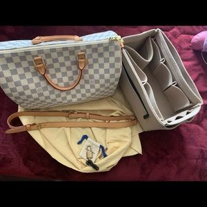 Louis Vuitton speedy bandolier 35